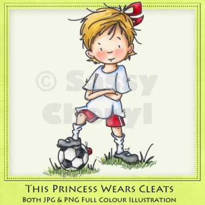 This Princess Wears Cleats